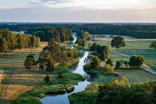fåglum 3 4 flygfoto nossebro natur nossan västragötaland sverige swe