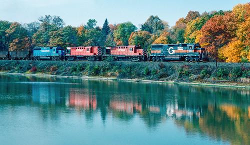 railroad locomotive train bm guilford