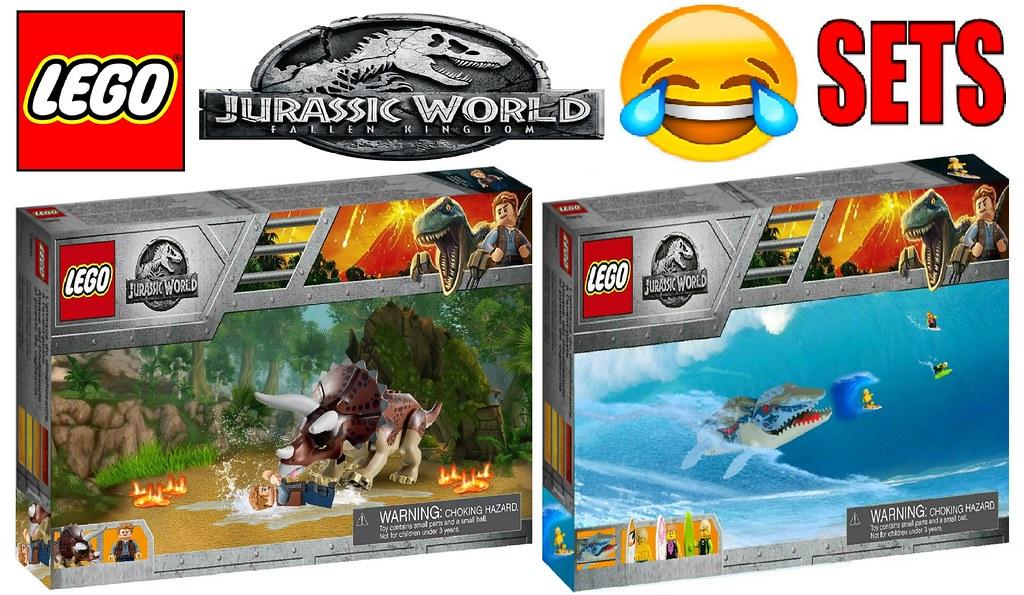 Funny Lego Jurassic World Fallen Kingdom Sets !!! | www yout