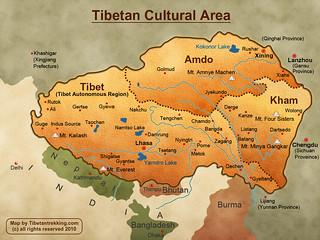 Tibet-Map-Large | by kwoklin