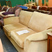 Oatmeal sofa two seater E209