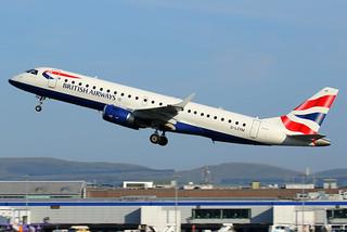 G-LCYM BA CityFlyer Embraer ERJ-190SR at Edinburgh on 27 June 2018 | by Zone 49 Photography