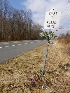 Roadside Memorial for Anonymous (1 of 1)