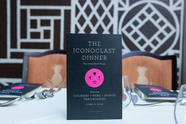 2018 Iconoclast Dinner at The James Beard House