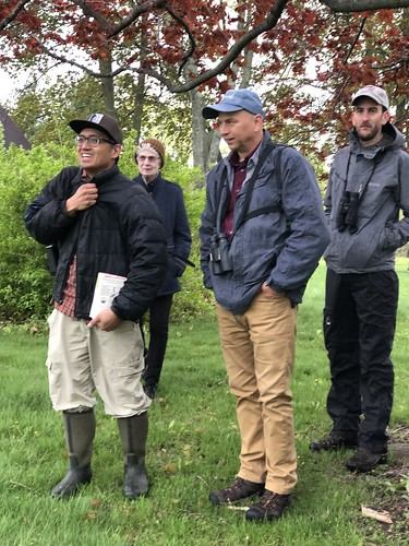 Birding with Poet Chuck Stebelton and Friends