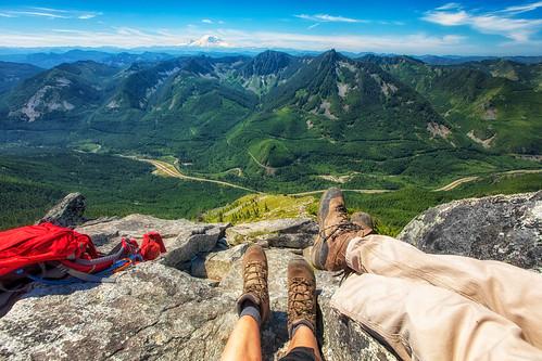 summit boots p3 putridpetespeak mountains mtrainier landscape