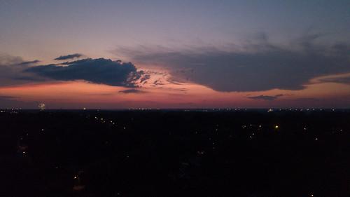 independenceday july4 sunset memphis tennessee dji mavic pro drone unitedstates us united states