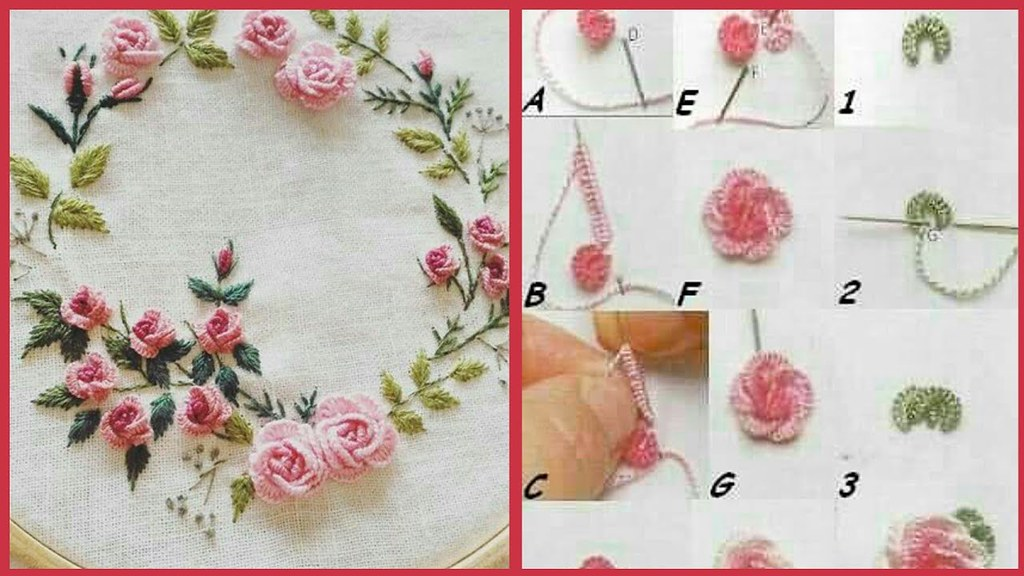 Simple Beautiful Hand Embroidery Designs Latest Attractive Easy Stitch S Part 2 A Photo On Flickriver