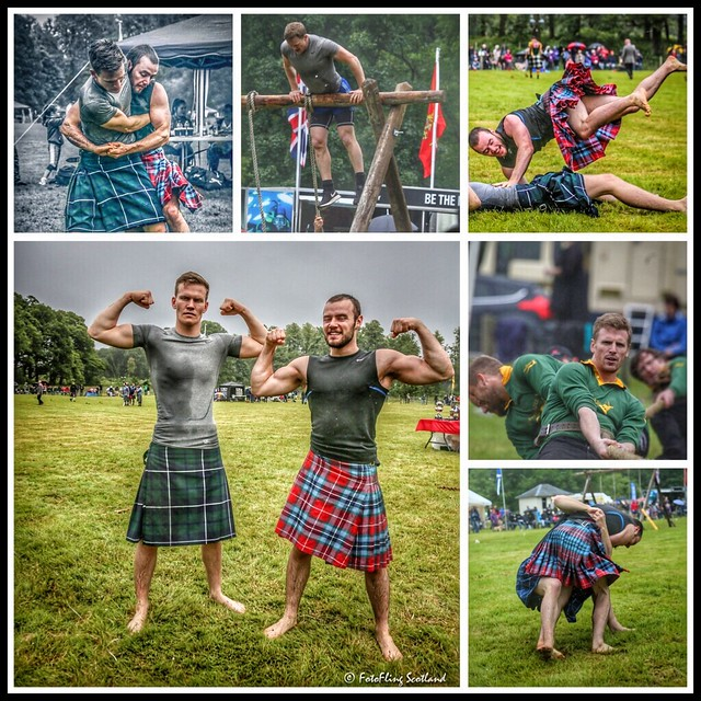 Today in Luss   - Highland Games