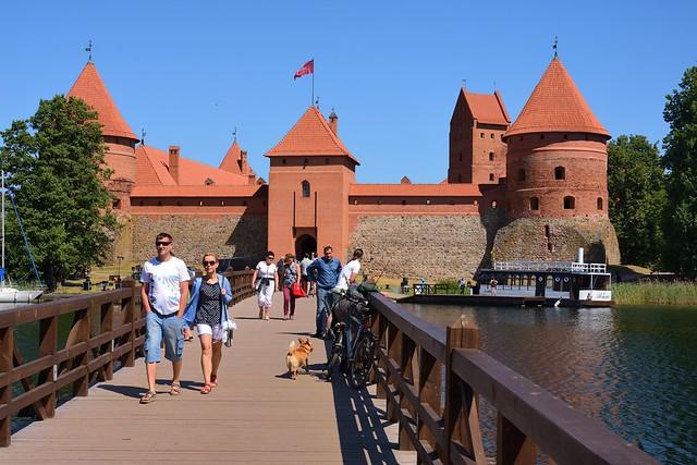 Lithuania / Bridge and Castle of Trakai