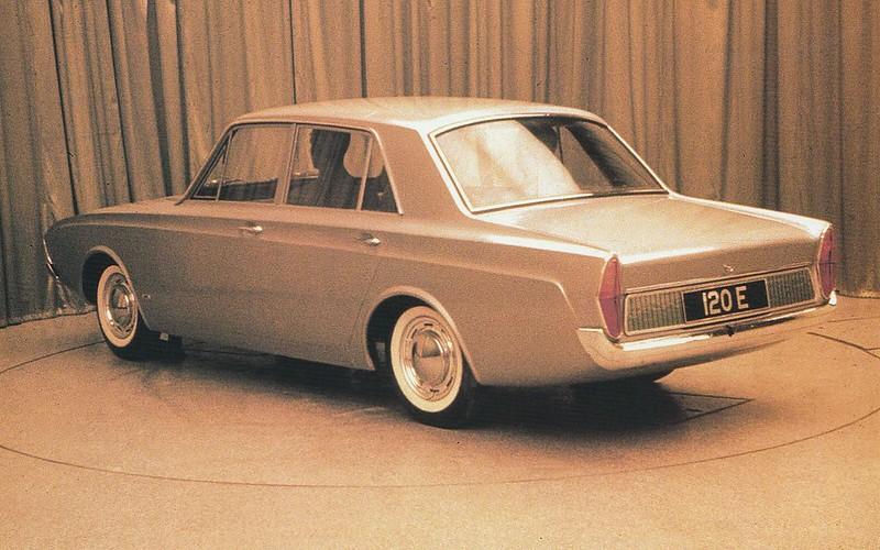 1960 Ford Corsair Prototype Press Photo - England