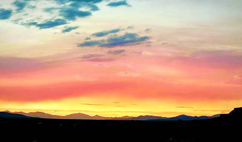 westcliffe custercounty colorado sunset