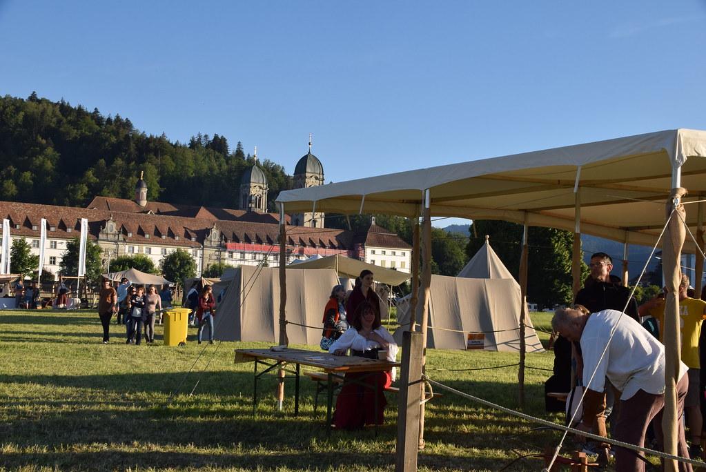 Mittelaltermarkt zu Einsiedeln 2018