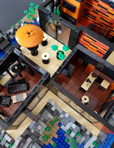 Lava House MOC interior | by betweenbrickwalls