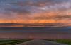 Summer sunset over the Saskatchewan prairie by Allison Kendall