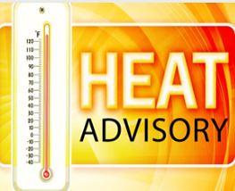 WARNING: 'Condition Orange: Heat Advisory' In Effect