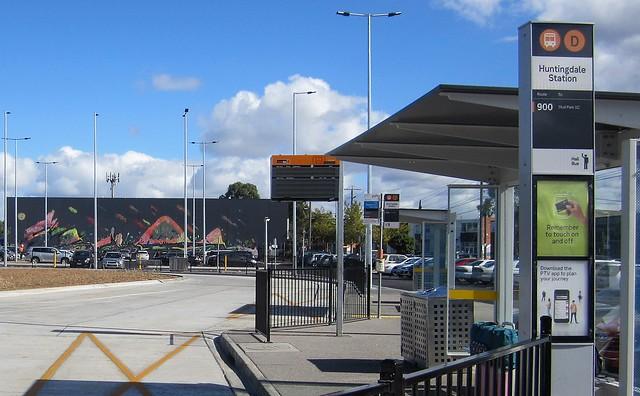 Huntingdale bus interchange