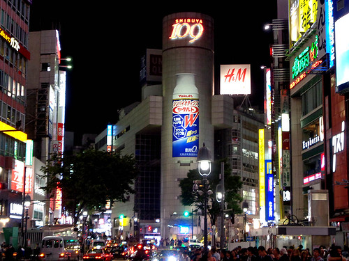 Shibuya by night 67 | by worldtravelimages.net