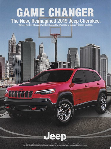2019 Jeep Cherokee (USA) Photo