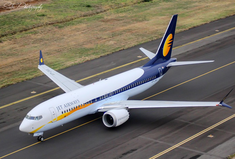 """""""The First Ever Indian Boeing 737 Max 8 Visit To South India"""""""