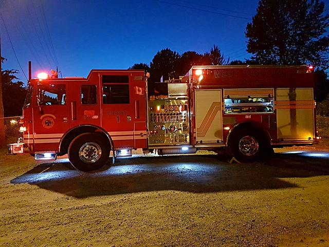 West Vancouver, BC Engine 1