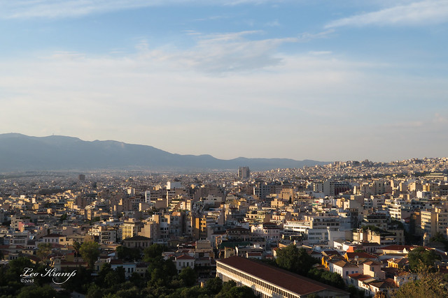 View on Athens