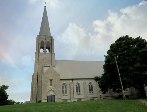 architecture architecturaldetails church smalltown iowa stanton