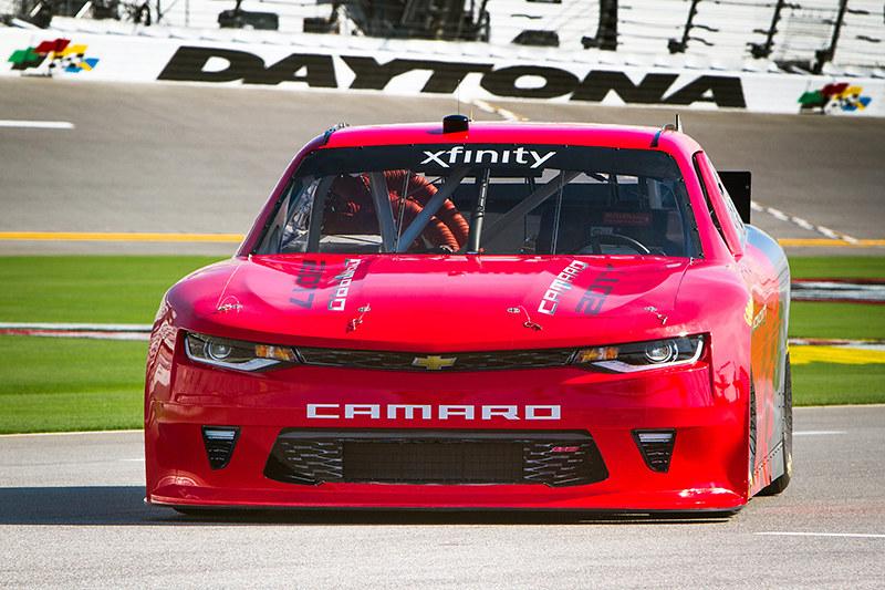 2017 Camaro NASCAR Xfinity Series Chevrolet Unveiled