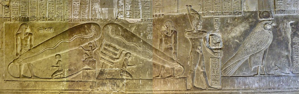 """Were the Denisova giants the first kings of Egypt - did their advanced technology """"capsize"""" the Earth?Electric lamp?..A power plant?.. Electric torches?"""
