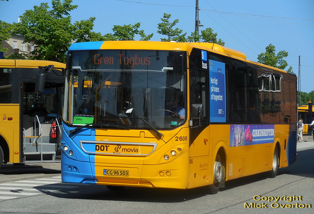 2011 Volvo B8RLE Keolis 2606 rail replacement bus