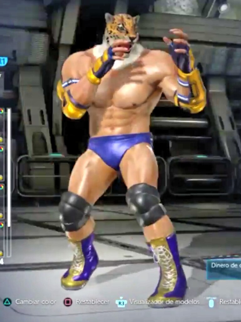A Front View Of King In Tekken 7 The Costume Selected Her Flickr