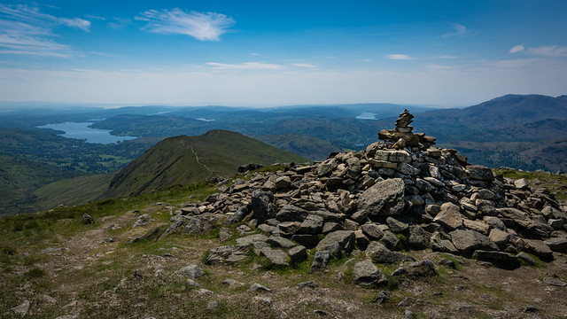 #144 Windermere from the Fairfield Horseshoe