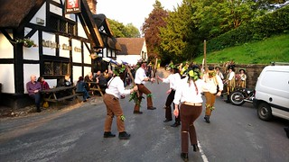 Domesday Morris Dancing at the White Lion, Barthomley, Cheshire 6
