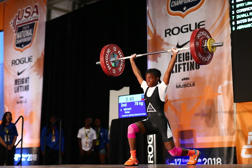 Kiaya Bryant-New Youth CJ record of 78kg | by Performance Initiatives, Inc.