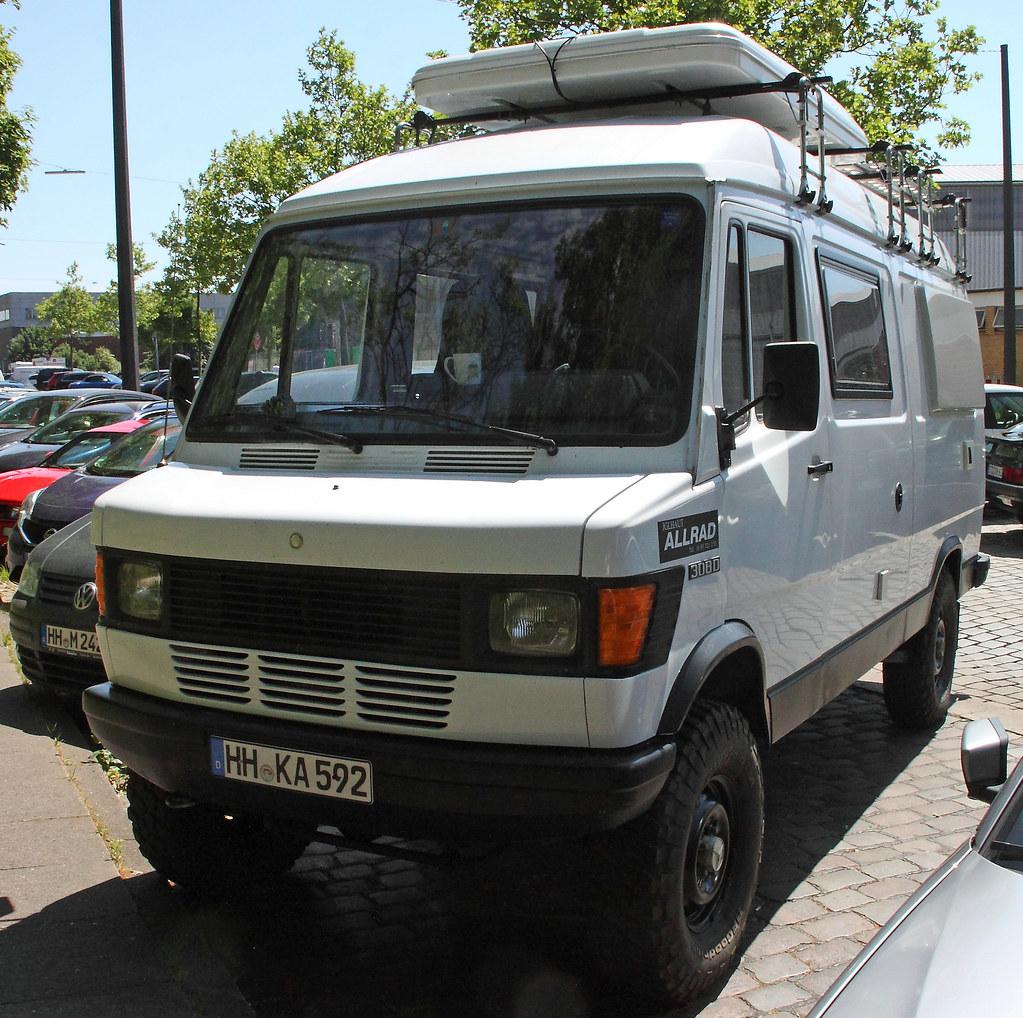 Bremer Transporter Allrad A Mercedes Benz 308d Iglhaut All
