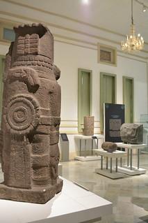 Museo Palacio Canton, Merida. Exhibicion Temproral de los Mexicas.