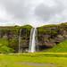 [冰島] 塞里雅蘭瀑布 Seljalandsfoss