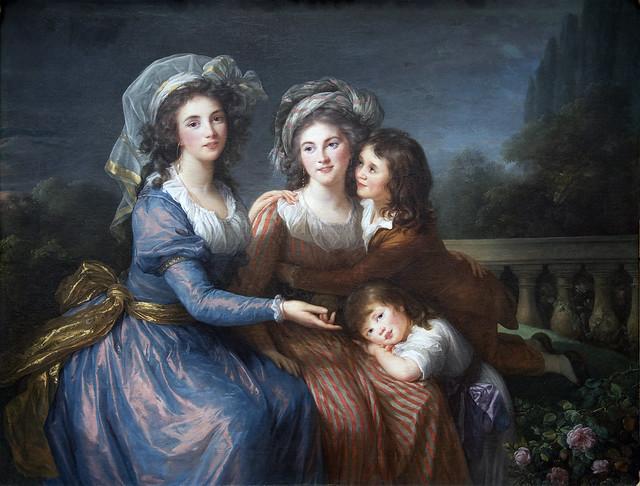 Marquise de Pezay & Marquise de Rouge, 1787