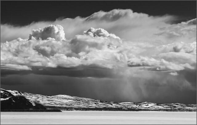 Summit Lake storm