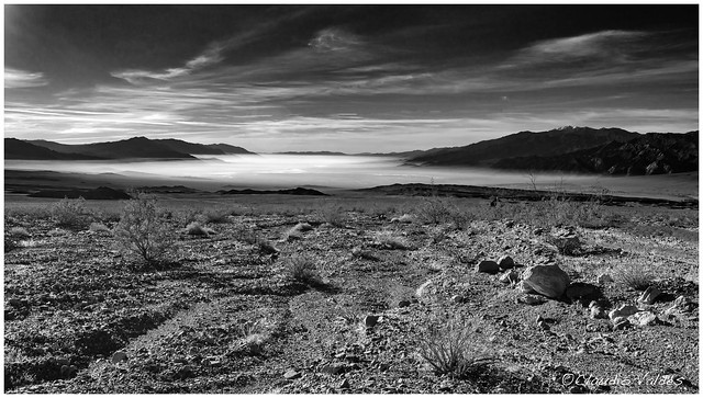 - Morning at Death Valley  -