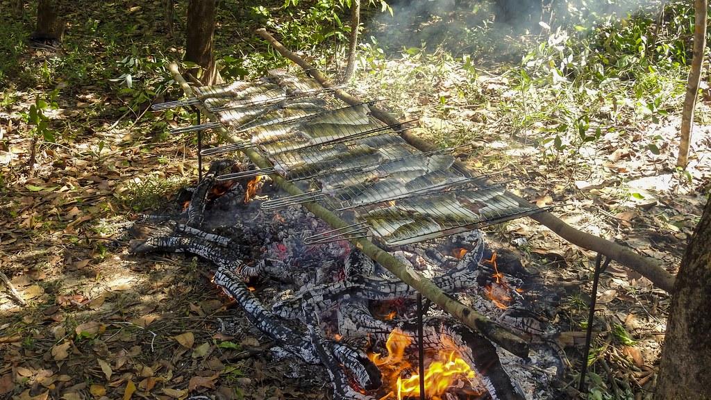 Churrasco de Tucunaré (série com 9 fotos) // Fish Barbecue (series with 9 photos)