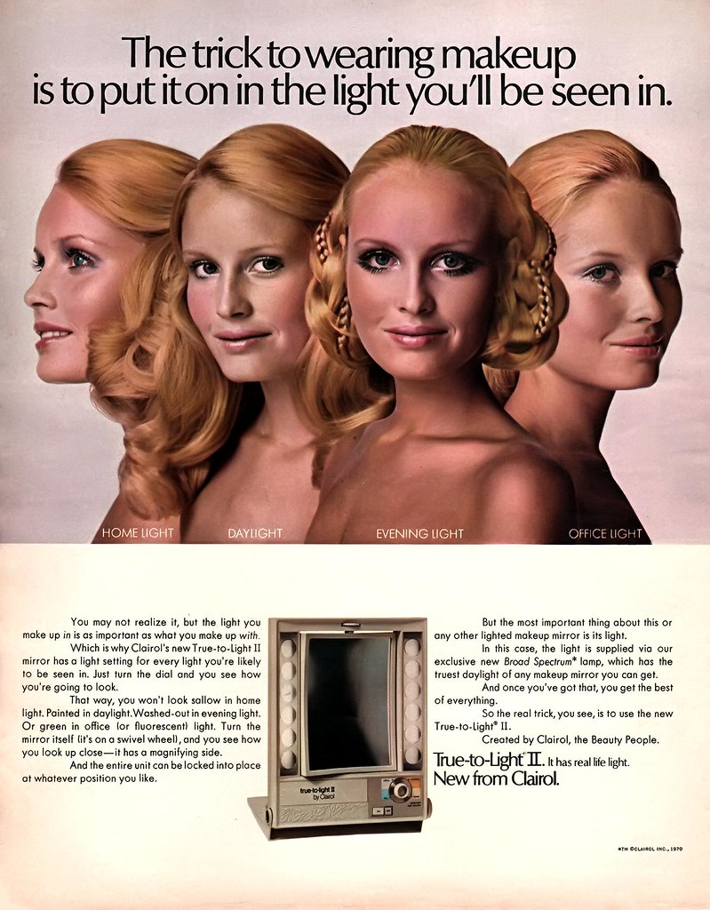 Clairol True To Light Ii Make Up Mirror My Mom Had One