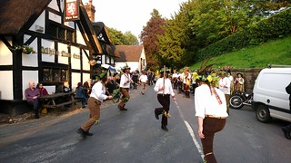 Domesday Morris Dancing at the White Lion, Barthomley, Cheshire 5