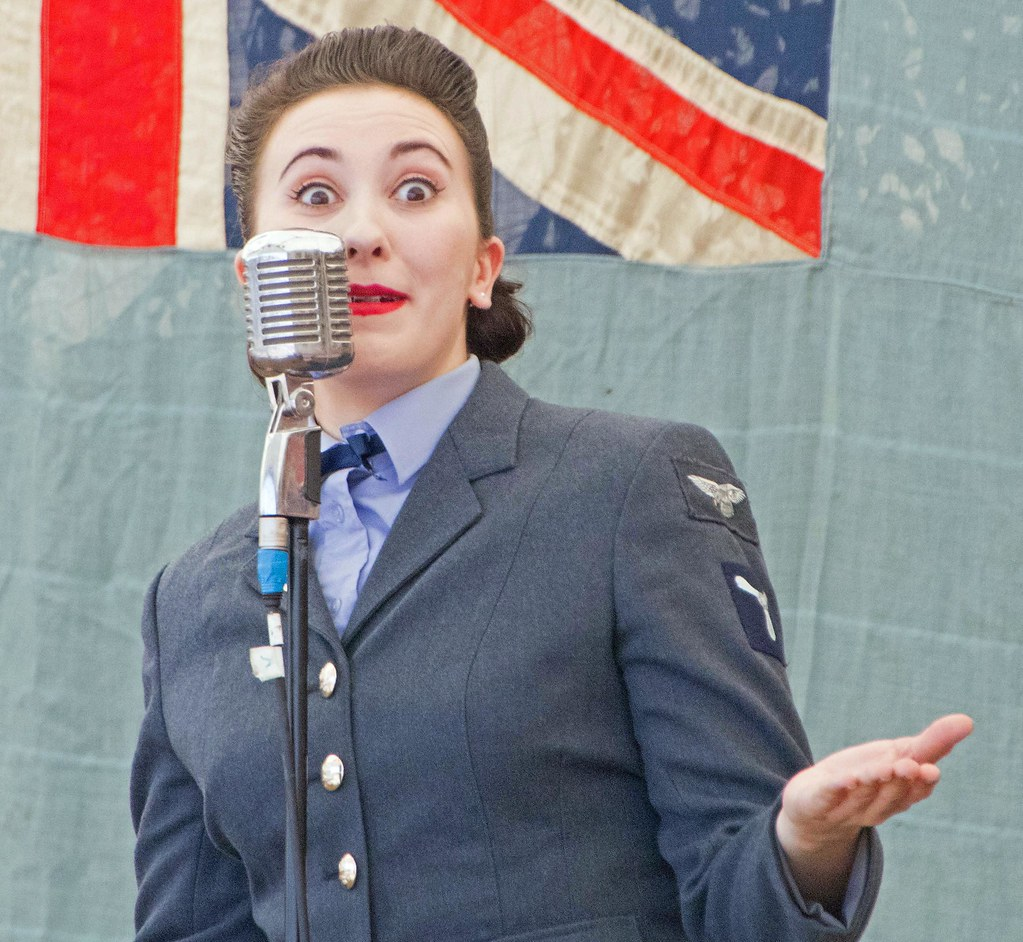 D Day Darling  | Belting out the wartime classic songs on th