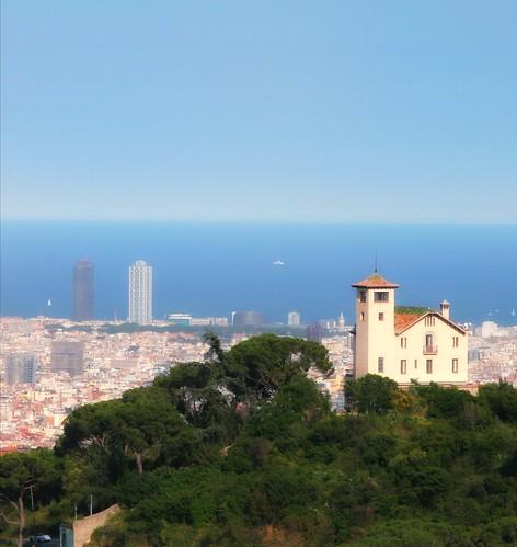 barcelona catalonia travel landscape ngc sea mountain