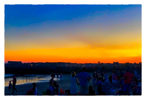 2018 night 0718 people sliderssunday sky sunset vacation kennebunkport maine unitedstates us