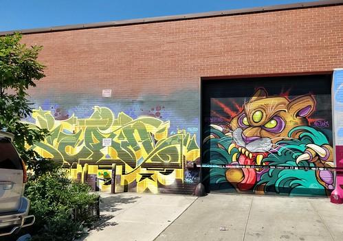 Williamsburg. Street Art #oneplus5 #shotononeplus #op5   by Russ Realty