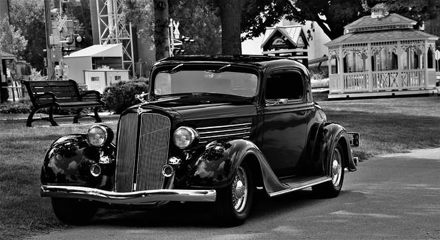 1934 Buick Series 50 3 Window Coupe