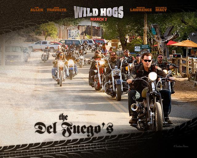 Image result for wild hogs the movie the del fuegos