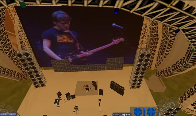 16down concert in Second Life